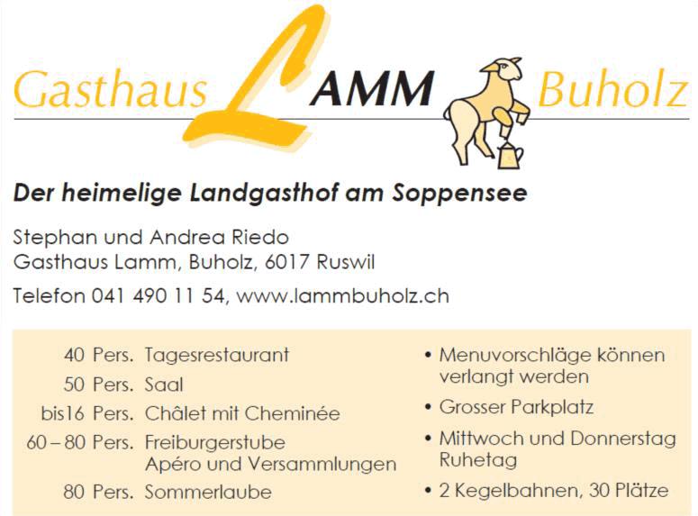 Gasthaus Lamm - Buholz