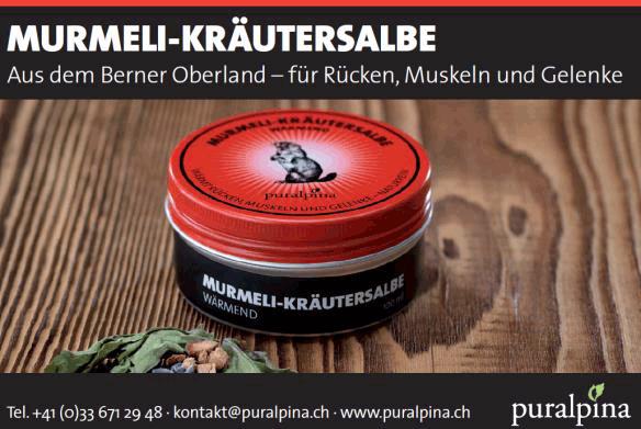 Murmeli Kräutersalbe