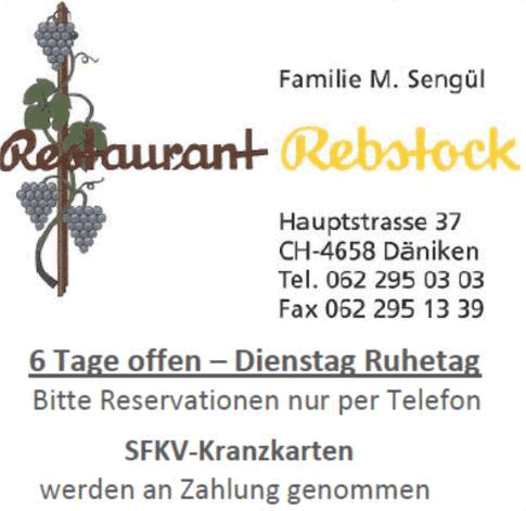 Restaurant Rebstock - Däniken