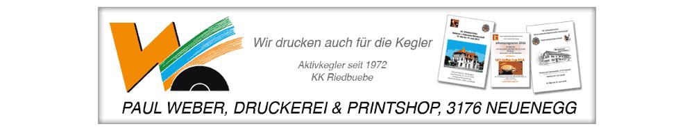 Weber Paul - Druckerei