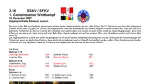 Das goldene Buch - Sportanlässe SFKV-SSKV